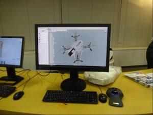 セミナー終了後、懇親会が開催された。また、3Dマウスで軽快に操作できるFusion 360など製品展示も行なわれた。